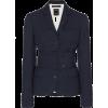 ROKH navy belted blazer - Jacken und Mäntel -