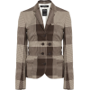 ROKH brown plaid blazer - Jakne in plašči -