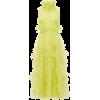 ROKSANDA  Karea feather and beaded silk- - Vestidos -