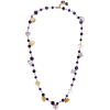 ROSANTICA Gold-tone beaded necklace - Collares -