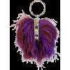 ROSANTICA ostrich feather-embellished ba - Bolsas pequenas -