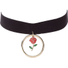 ROSE CHOKER - Necklaces -