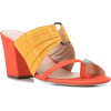 ROSIE ASSOULIN pleated funky toe mules - Sandals -