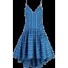ROSIE ASSOULIN striped high-low dress - Dresses -