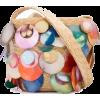 ROSIE ASSOULIN watercolor disk shoulder - Messenger bags -