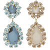 ROXANNE ASSOULIN mismatched earrings - Kolczyki -