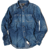 RRL RALPH LAUREN denim shirt - Camisa - curtas -