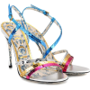 RUNWAY GUCCI Sequinned sandals - Sandals -