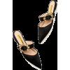 RUPERT SANDERSON crystal embellished - scarpe di baletto -