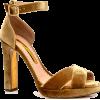 RUPERT SANDERSON velvet sandal - Sandals -