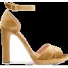 RUPERT SANDERSON velvet sandal - Sandálias -