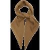 RYAN ROCHE Rolled-edge cashmere scarf - 丝巾/围脖 -