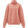 Raey Cropped displaced-sleeve roll-neck - Pullover -