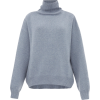 Raey Cropped displaced-sleeve roll-neck - Pullovers -