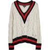 Rag & Bone Cream Cable-knit Jumper - Pullovers -