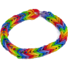 Rainbow Loom Pride Bracelet - Bracelets -