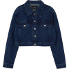 Raive Cropped Denim Jacket - Jacket - coats -