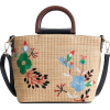 Rattan Straw beach bag - Travel bags -