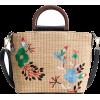 Rattan Straw beach bag - Borse da viaggio -