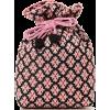 Ray BEAMS / Jacquard Drawstring Shoulder - Hand bag -