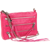 Rebecca Minkoff  Mini 5 Zip Clutch Snake Clutch Fuschia - Clutch bags - $195.00