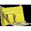 Rebecca Minkoff  Mini Mac Clutch Bright Clutch Lime - Clutch bags - $195.00