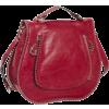 Rebecca Minkoff Eyelet Vanity Flap Crossbody Red - バッグ - $495.00  ~ ¥55,711