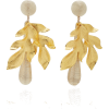 Rebecca De Ravenel Violetta 14K Gold Pla - Earrings -