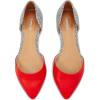 Red And Spotted D'orsay Flat | Express - Flats -