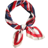 Red. Blue 36 - Scarf -