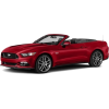 Red Ford Mustang Convertible - Uncategorized -