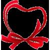 Red Heart Ribbon - Uncategorized -