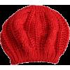 Red Knit cap - Cap -