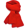 Red Knit scarf - Scarf -