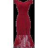 Red Lace Dress2 - Haljine -