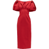 Red Midi Dress - Vestidos -