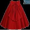 Red Skirt - Faldas -