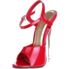 Red Sling Back Heel - Classic shoes & Pumps -