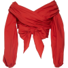 Red Top - Long sleeves shirts -