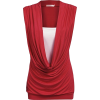 Red Top - Pullovers -