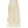 Red Valentino Pleated and Tulle Skirt - Suknje -