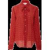 Red Valentino Polka Dot Tie Blouse - Srajce - dolge - $595.00  ~ 511.04€