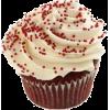 Red Velvet cupcake - cibo -