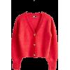 Red - Cardigan -