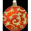 Red and Gold Ornament - Predmeti -