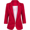 Red blazer jacket - Jacket - coats -