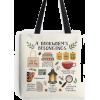 Redbubble book tote bag - Messaggero borse -