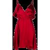 Red dress - Платья -