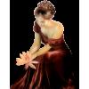 Red dress model - Ludzie (osoby) -