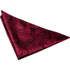 Red paisley pocket square (DQT) - Tie -